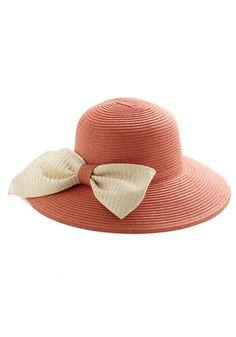 Apricot Tea Hat, #ModCloth