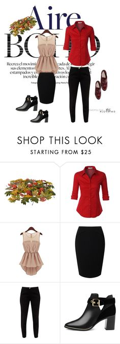 """Perfectly"" by fatimazbanic ❤ liked on Polyvore featuring LE3NO, Jacques Vert, Ted Baker and Boohoo"