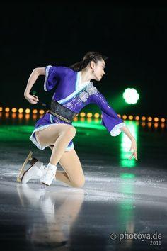 Like a Kimono :3 Shizuka Arakawa  Purple hued Figure Skating / Ice Skating dress inspiration for Sk8 Gr8 Designs