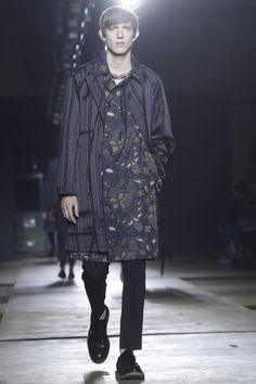 Dries Van Noten Menswear Fall Winter 2015 Paris