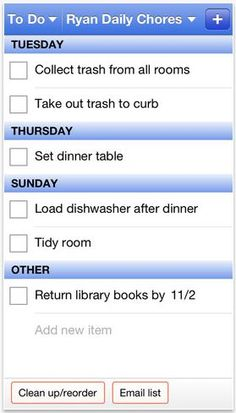 Cozi to-do list app and family organizer -- a must-have!