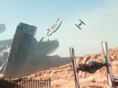 The Millennium Falcon returns. 'Star Wars: The Force Awakens': An Exclusive EW Gallery of New Photos | | EW.com