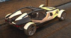 GMC Hotrod concept is outrageously hot - Auto Chunk Weird Cars, Cool Cars, Lotus Models, Diy Electric Car, Homemade Go Kart, Velo Design, Lotus 7, Classy Cars, Futuristic Cars