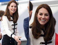 """Express Pictures on Twitter: """"Kate Middleton visits Sir Ben Ainslie sailing charity in Portsmouth"""