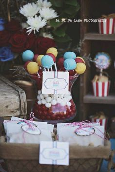 Simply Surreal E's Birthday / Carnival/Circus - Photo Gallery at Catch My Party Circus Carnival Party, Carnival Themes, Circus Birthday, Birthday Bash, Party Themes, Birthday Parties, Party Ideas, Backyard Carnival, Circus Decorations