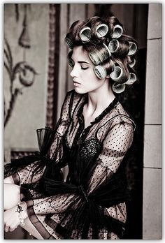 How to use curlers. A forgotten art to creating volume and curls that last!