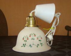 "Vintage Swedish ceramics Gabriel-Vintage ceramic sconce""Linnea borealis"""