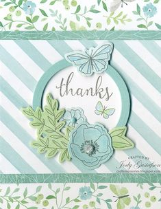 Thanks from Chelsea Gardens If you like flowers and butterflies then ChelseaGardens is for you. With a paper pack collection of soft ...