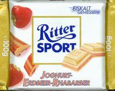 RITTER SPORT Joghurt-Erdbeer-Rhabarber (2002)