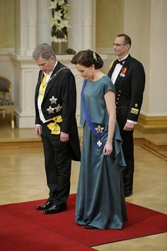 Suomi 100, Finland 100, Jenni Haukio and Sauli Niinistö, Castle of the President of Finland, December 2017