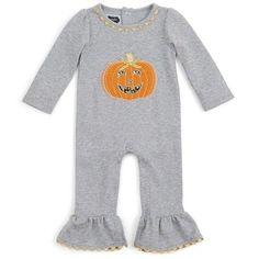 Pumpkin Ruffle One-Piece