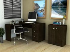 Escrivaninha/Mesa para Computador 3 Gavetas - Tecno Mobili ME 4101 com as melhores condições você encontra no Magazine Jbtekinformatica. Confira!