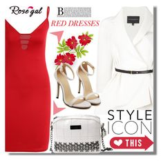 """Rosegal 18"" by edita-n ❤ liked on Polyvore featuring Carolina Herrera"