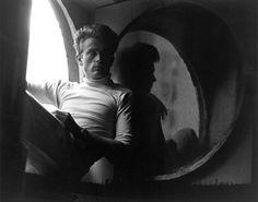 James Dean - Circular Window, by Roy Schatt