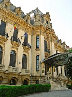 "Palatul Cantacuzino - Muzeul National ""George Enescu"""