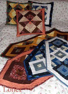 Lonci patchwork: Párnák