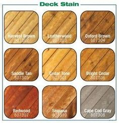 About Wood Stains Deck Stain Colorsdeck