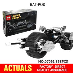 (29.90$)  Watch more here - http://aiz3s.worlditems.win/all/product.php?id=32794653624 - New Lepin 07061  Super Hero Series The Batman Motorcycle Set 5004590 Educational Building Blocks Bricks Toys Model boy Gift 7115