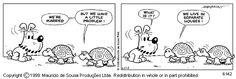 Monica's Gang - Comic Strips  (turma da Mônica em inglês =)