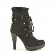 Botine Carpat Negre Heels, Boots, Fashion, Heel, Crotch Boots, Moda, Fashion Styles, High Heel, Shoe Boot