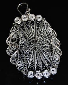 Filigree Maltese Earrings