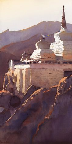 I was very surprised and flattered to learn that my painting, Lamayuru Chorten, earned the First Place award at the Triton Museum of Art S...