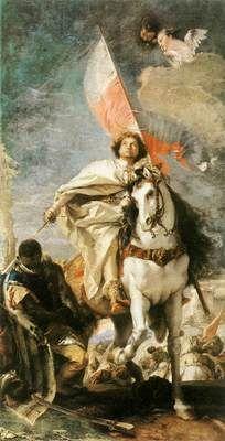 Tiepolo St James the Greater Conquering the Moors « In album - Giovanni Battista Tiepolo (1696-1770) « italy    #TuscanyAgriturismoGiratola