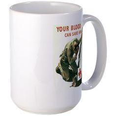 Your Blood Can Save Him Mug http://www.cafepress.com/historicmugs.971958356
