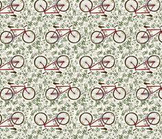 Go West Bike fabric by sarahgager on Spoonflower - custom fabric