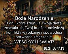 Boże Narodzenie - 3 dni które zrujnują... Everything And Nothing, Wise Words, Wish, Literature, Nostalgia, Poems, Positivity, Religion, Humor