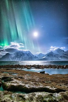 Norway, Aurora borealis