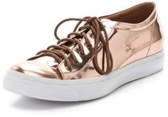 Jeffrey Campbell Pink Flavia Scratch Proof Sneakers