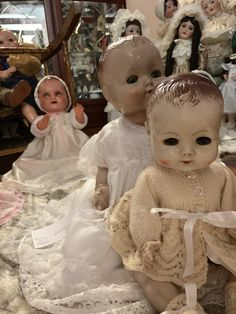 Antique Roddy dolls From my private collection.