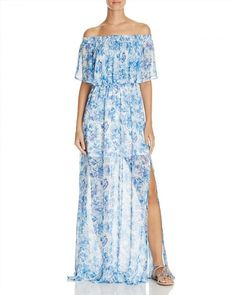 172.00$  Watch here - http://vieey.justgood.pw/vig/item.php?t=7a83i553897 - Show Me Your MuMu Hacienda Floral Print Off the Shoulder Dress 172.00$