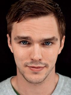I could stare into Nicholas Hoult's eyes forever