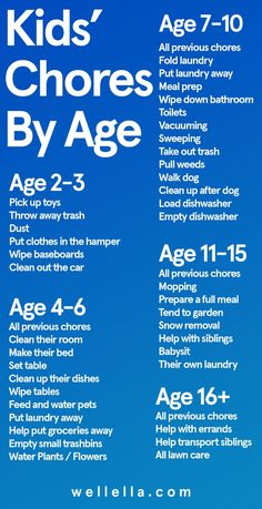 Kids chores by age chart - Daily and weekly cleaning tasks for kids from toddlers to teens, to earn allowance, get life skills, and help out at home. schedule for kids Kids Chores By Age - Family Joys Kids And Parenting, Parenting Hacks, Parenting Classes, Parenting Styles, Parenting Quotes, Gentle Parenting, Peaceful Parenting, Mindful Parenting, Foster Parenting