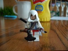Custom Lego Assassin's Creed 3 Conner Kenway Minifigure. $25.00, via Etsy.
