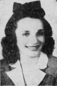 """Mary Virginia """"Jimmie"""" Carpenter was a 21-year-old woman from Texarkana, Texas who went missing in Denton, Texas in the summer of 1948. Her disappearance remains unsolved. Carpenter was last seen by a taxi driver around 9:30 p.m. on Tuesday, June 1, 1948.  The case is cold but remains open."""