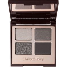 Charlotte Tilbury Luxury Palette (945 MXN) ❤ liked on Polyvore featuring beauty products, makeup, eye makeup, eyeshadow, beauty, eyes, 35. eye makeup., blending brush, blending brush eyeshadow and blender brush