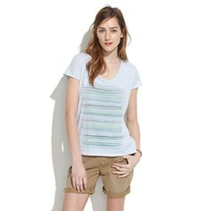 Mollusk Surf Shop Swell Stripes Tee
