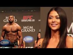 Arianny Celeste's reaction to Alistair Overeem at UFC 141 weigh-ins.