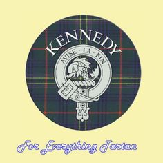 For Everything Genealogy - Clan Kennedy Clan Crest Tartan Cork Round Coasters Set of 2, $12.00 (http://foreverythinggenealogy.mybigcommerce.com/clan-kennedy-clan-crest-tartan-cork-round-coasters-set-of-2/)