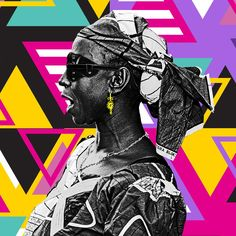 The Artist Is Present: Williams Chechet Utilizes Pop Art To Remind You To Know Your History - OkayAfrica Punk Art, Black History Month, Art Of Living, African Art, Album Covers, Street Art, Pop, Creative, Illustration