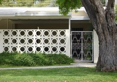 modern design by moderndesign.org : Mid Century Decorative Concrete Screen Block