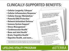 FREE doTERRA LifeLong Vitality Supplements & Diffuser!