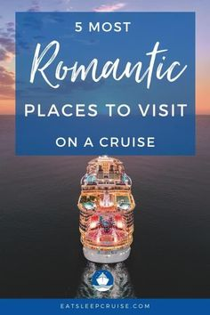 If you're dreaming of a romantic getaway with your special someone, why not consider a cruise? Here we share the 5 most romantic cruise destinations. Use this to get ideas and tips for planning the best vacation ever. With choices like Hawaii, Europe and more, you can't go wrong. Treat your special someone to the gift of a lifetime - memories! Check out this post and you'll be ready to sail as soon as cruising resumes! #CruiseVacation #RomanticGetaway #CouplesCruise #Cruising… Packing List For Cruise, Cruise Tips, Cruise Vacation, Cruise Excursions, Cruise Destinations, Most Romantic Places, Exotic Places, Cruise Ship Reviews, Alaska Cruise