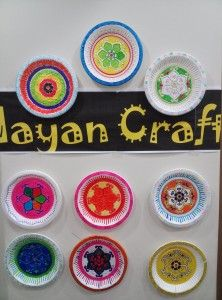 Mayan Craft - Use paper or styrofoam plates and permanent markers to design your own Mayan relic! Mayans For Kids, Styrofoam Plates, Styrofoam Crafts, Styrofoam Ball, Paper Plates, South American Art, American History, Native American, Mayan History