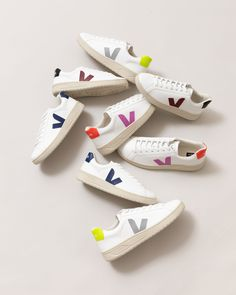 Veja Sneakers, Classic White, Kicks, Converse, Skinny Jeans, Chic, My Style, Leather
