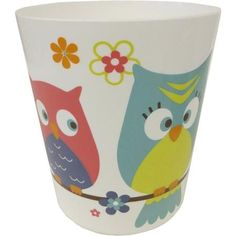 Mainstays Whooty Hoot Waste Can - Walmart.com