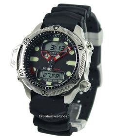 7266697a15e Citizen Aqualand Diver Depth Meter Promaster JP1010-00E JP1010 Men s Watch
